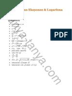 eksponen & log kelas x.pdf