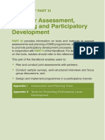Tools for Assessment, Planning and Participatory Development