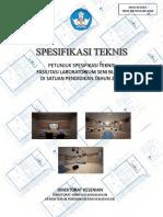 Spesifikasi Laboratorium Seni Budaya