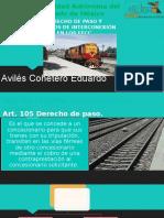 Derechos de Paso y Servicios de Interconexión Ffcc