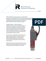 SOR Pressure Switch