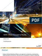 SDN From Concept to Reality