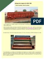 Patine des wagons à ferraille E84/85. Par H.Leclère N° 3