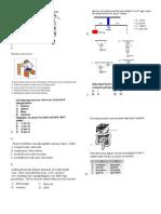 Soal Latihan UAS Fisika Sem I Kelas VIII (Unfinished)