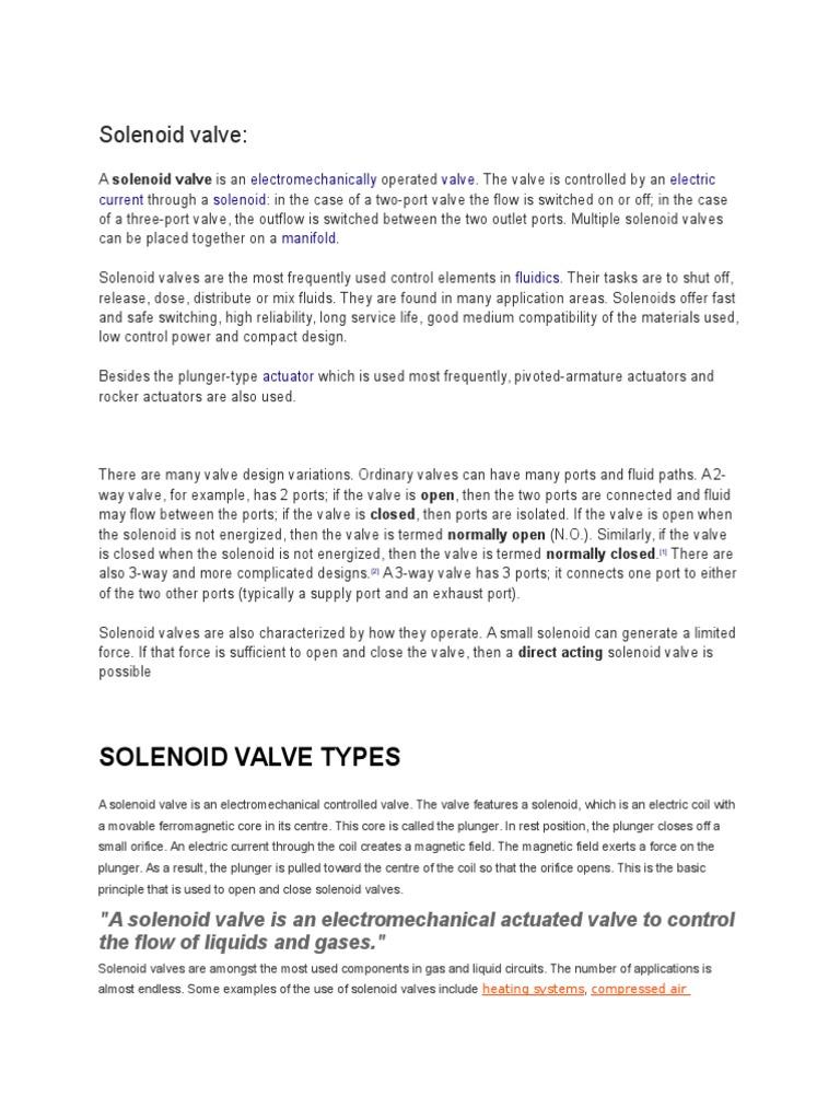 Solenoid Valve | Valve (11 views)