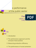 The performance of public sector.ppt