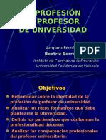 Profesión Profesor Univ..ppt