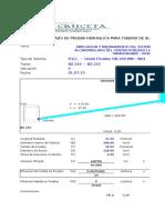 Prueba Hidraulica Alcantarillado 08 MODELO MAS USADA