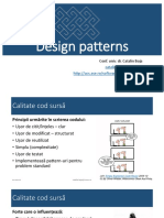 Curs CTS Design Patterns 2016
