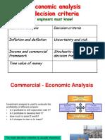 Economic Analysis of Field Development