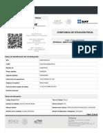 Cedula Fiscal de Alma Delia Herrera Hernandez( Servicios Logisticos Nuevo Leon)