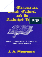 Early Manuscripts, Church Fathers, and the Authorized Version - Dr Jack A Moorman.pdf