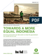Towards a More Equal Indonesia