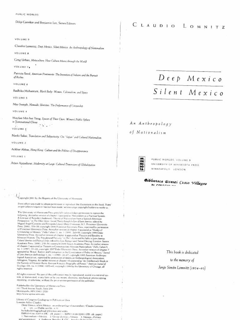 ddd1418d8649c Claudio Lomnitz-Adler-Deep Mexico