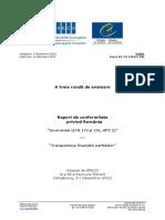 GrecoRC3(2012)18 Romania RO