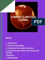 Cambio Climático Mllv