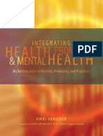 Health Promotion and Mental Health