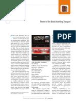 Modeling Transport 4th Edition de Dios O