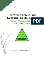 Informe Inicial de Evaluacion de Riesgos