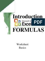 Computer Methods in Geology_excel2 Formulas
