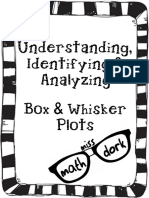box and whisker plots packet