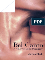 James Stark-Bel Canto_ a History of Vocal Pedagogy-University of Toronto Press, Scholarly Publishing Division (1999)