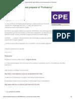 Enlaces y Recursos Para Preparar El _Proficiency