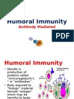 1. Humoral Immunity