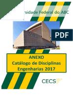Catalogo de Disciplinas de Engenharia