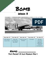bomb week three packet