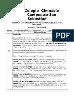 11° ECONOMÍA. ACTIVIDADES P. TRANSVERSALES DEL 13 AL 17 DE MARZO DE 2017