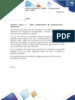 Formato Etapa 2 - Taller fundamentos de programación - Algoritmos.docx