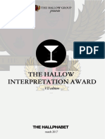 The Hallow Interpretation Award 2017