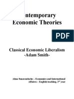Contemporary Economic Theories