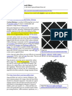 Activated Carbon or Charcoal Filters