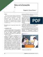 El Rol de La Física en La Formación Del Ingeniero - Garza Rivera