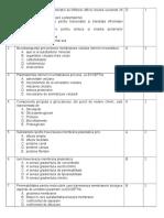 Intrebari Cu Indice de Dificultate Mediu Biocel 2011 Lb Romana