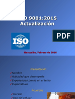 Modulo I ISO 9001 2015