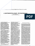 anthropologie economique