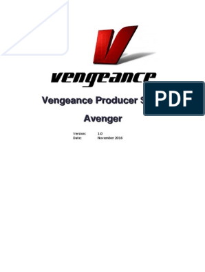 VPS Avenger Book Manual English | Synthesizer | Frequency