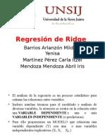 Regresion Ridge