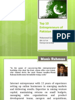 TOP 8 Entreprenuers of Pakistan