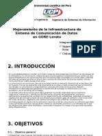Infraestructura de Sistema de Comunicación de Datos