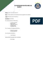 Junta de Representantes - Enero 2017
