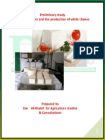 Preliminary Study for the Industry and the Production of White Cheese