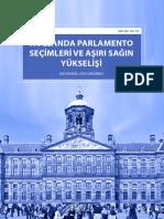 Hollanda Parlamento Seçimleri ve Aşırı Sağın Yükselişi