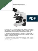 Microscopio Óptico Binocular