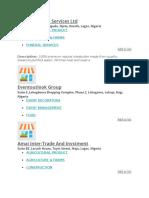 List of Shea Butter Dealers in Nigeria