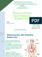 Alteraciones Del Sitema Endrocrino
