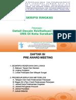 2. TAYANGAN Pre-Award Meeteing Revitalisasi Danau UNS Di Kota Surakarta